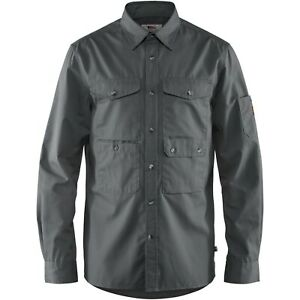 Fjäll Räven Övik Shade Pocket Shirt Men  Langarmhemd für Herren  Funktionshemd