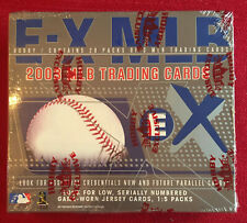 2003 Fleer EX Baseball Factory Sealed Hobby Box 20/3