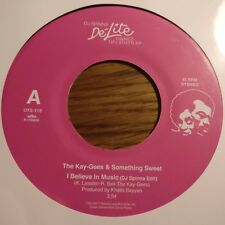 KAY GEES - I BELIEVE IN MUSIC / MADE IN USA MELODIES DJ SPINNA EDITS JAPAN 45
