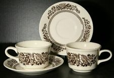 2 Royal USA Sussex Cavalier Cup & Saucer Sets