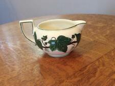 Wedgwood Napoleon Ivy creamware bute shape creamer. 1950's