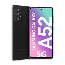 """Cellulare Smartphone Samsung Galaxy A52 5G 6,5"""" 6+128GB Dual Sim Black SM-A526"""