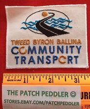 Australia Patch Tweed Byron Ballina Community Transport New South Wales #3U