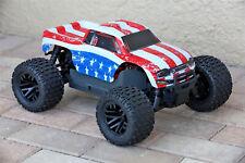 Custom Body USA Flag Style for ARRMA GRANITE 4X4 3S BLX 1/10 Cover Shell