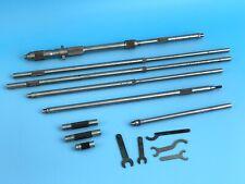 Starrett No 124 C 8 32 Solid Rod Inside Micrometer Set Vintage Machinist Tool