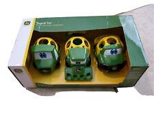 Go Grippers John Deere Toddler Truck Toy Tough Ol' Trio Push Farm Vehicle Set