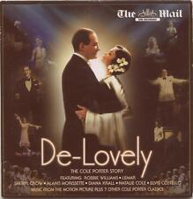 DE-LOVELY: THE COLE PORTER STORY - PROMO CD ALBUM: NATALIE COLE, ELVIS COSTELLO