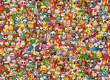 Clementoni - Impossible Emoji Jigsaw Puzzle (1000 Pieces) 39388