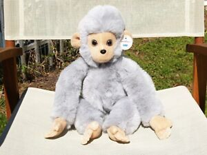 """RARE VINTAGE GUND-GRAY MONK-KEES / SNOW MONKEES-MONKEY-LARGE-17""""-#2625-1980-TAGS"""