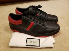 100% authentic GUCCI Ronnie Low Leather Sneakers  sz 10G (11US)