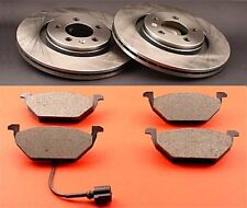 Bremsscheiben Bremsen mit Bremsbeläge für einen VW Fox vorne Vorderachse