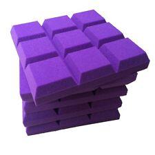 promot 5 PCS Flame Retardant Studio Soundproof Sponge Foam in Purple Color