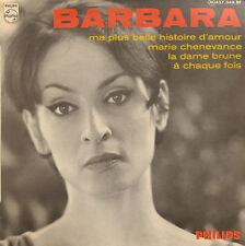 "BARBARA - Barbara (FRENCH POP 1967 VINYL EP 7"" FRANCE)"