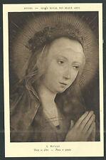 Postal antigua de la Virgen andachtsbild santino holy card santini