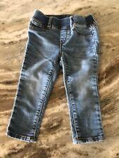 Baby Gap Baby Infant Girl Skinny Light Denim Blue Jeans Pants Size 18-24 Months