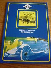 SOUTH AFRICAN GRAND PRIX 1962 1970 MOTOR RACING BOOK jm
