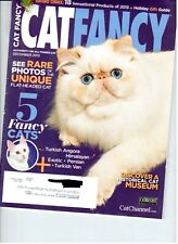 Cat Fancy Magazine ~ December 2013 ~ Turkish Angora,Himalayan,Exotic,P ersian