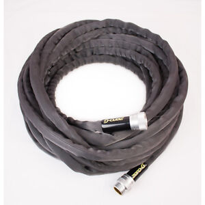 NEW Zero-G 5/8-in x 50-ft Black Premium-Duty Kink-Free Water Outdoor Garden Hose