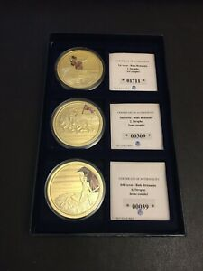 Rule Britannia Verse Coins (1, 2 & 6) with COA