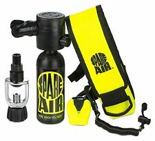 Spare Air Package Kit Scuba Diving Regulator Dive Octo Back Up Air 1.7cu.ft BLK