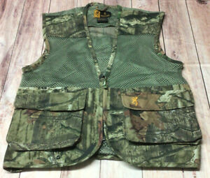Browning Mens Green Small Hunting Vest Preowned
