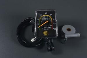 "JRL Genuine 26"" Wheel Vintage Universal Bike Speedometer Motorized Mechanical"