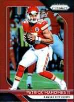 2018 Panini Prizm NFL Football Prizm Red Parallel Singles (Pick Your Cards)