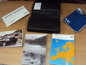 JEEP GRAND CHEROKEE 3.0 CRD 2007 MANUALS BOOK PACK AND WALLET