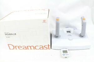 SEGA Dreamcast Twin Stick Controller Pad HKT-7500 BOX DC Japan tested working