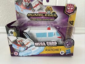 Transformers Bumblebee Cyberverse Adventures, 1-Step Changer Ratchet Figure