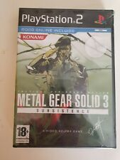 Metal Gear Solid 3: Subsistence (COMPLETO) PAL ESPAÑA SONY PLAYSTATION 2 PS2