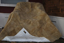 Real Genuine Blanket Fur , bedspread, Throw ,Rugs, Cover, Natural Fur, pelzdecke