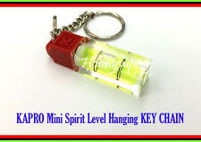 1 x KAPRO Mini. Spirit Level Picture Hanging with KEY CHAIN EASY TO USE