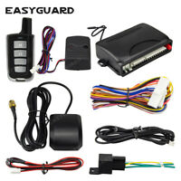EASYAGUARD GPS tracker car alarm system APP control lock unlock & trunk release