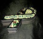 24 Patriotic Mini Ribbon Magnets Support Troops Veterans USA Refrigerator Magnet