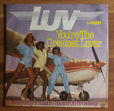 "Single 7"" Vinyl LUV Carrere - You´re the greatest lover"