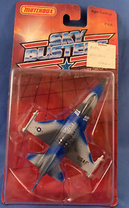 VINTAGE 1989 MATCHBOX SKYBUSTERS F16A IN ORIGNAL PACKAGE