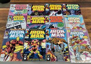 Rare MARVEL Comics Books Lot Run IRON MAN Bronze & 1980s ☆ NM+Up!