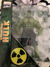"Marvel Select Unleashed Hulk Disney Exclusive 9.5"" Action Figure Rare 2011 Ed"
