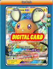 Dedenne GX 57/214 for Pokemon TCG Online (PTCGO, Digital Card)