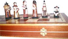 Fantasy Schachfiguren Schachspiel Schachbrett Schach Stein Ground Stone chess