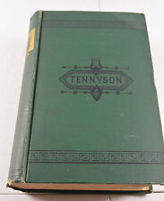 Antique The Complete Works of ALFRED TENNYSON Illustrated Edition 1878 Book
