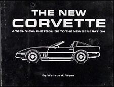 Technical Photoguide Development 1984-1996 C4 Corvette New Old Stock Chevy Book