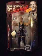 ROB VAN DAM RVD SIGNED WWE ECW SERIES 1 FIGURE