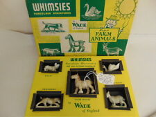 Stunning,Rare, Vintage, 1950's Set 10, Wade Whimsies Miniature Farm Animals