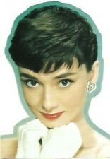 Audrey Hepburn Sticker, 1990s Vintage Stock, New