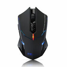 ET X-08 2000DPI Adjustable 2.4G Wireless Professional Gaming Game Mouse Mice NEW