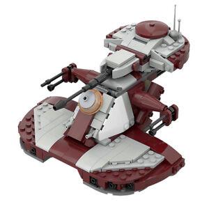MOC-53017 Clone Wars Armored Assault Tank AAT Set for 75283 Building Blocks Toys