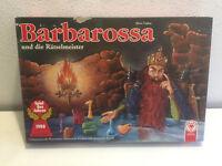 Barbarossa und die Rätselmeister ASS Spiel des Jahres Seltene Ausführung Rarität