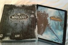 World of Warcraft Wrath of the Lich King Collector's Edition Sealed Cards Book